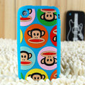 Cartoon Paul Frank Silicone Cases Skin Covers for iPhone 3G/3GS - Blue