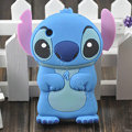 Cartoon Stitch Silicone Cases Skin Covers for iPhone 3G/3GS - Blue