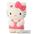 Hello kitty 3D Silicone Cases Skin Covers for iPhone 4G/4S - Pink