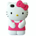 Hello kitty 3D Silicone Cases Skin Hard Covers for iPhone 4G/4S - Pink