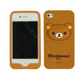 Rilakkuma Silicone Cases Skin Soft Covers for iPhone 4G/4S - Brown