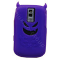 Devil TPU Soft Skin Silicone Cases Covers for Blackberry Bold 9000 - Purple