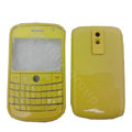 Front and Back Housing With Keypad Fullset Covers for Blackberry Bold 9000 - Yellow