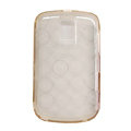 High transparency TPU Soft Skin Cases Covers for Blackberry Bold 9000 - White