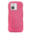 Mesh Cases Skin Covers for Nokia N97 mini - Pink