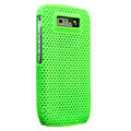 Mesh case skin cover for Nokia E71 - Green