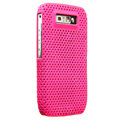 Mesh case skin cover for Nokia E71 - Rose