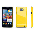 ROCK Colorful skin cases covers for Samsung i9100 i9108 Galasy S2 - Yellow