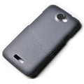 ROCK Quicksand hard skin cases covers for HTC One X Superme Edge S720E - Gray