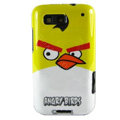 Cartoon Angry birds Hard Cases Covers for Motorola Defy ME525 MB525 - Yellow