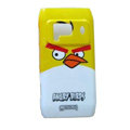 Cartoon Angry birds Hard Cases Skin Covers for Nokia N8 - Yellow