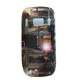 Cartoon Cars Hard Cases Skin Covers for Nokia C7 C7-00 - Brown
