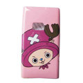 Cartoon Chopper Hard Cases Skin Covers for Nokia N9 - Pink