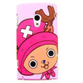 Cartoon Chopper Hard Cases Skin Covers for Sony Ericsson X10i X10 - Pink