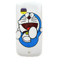 Cartoon Doraemon Hard Cases Skin Covers for Nokia C5-03 - White