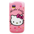Cartoon Hello kitty Hard Cases Skin Covers for Nokia C5-03 - Pink