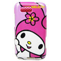 Cartoon Melody Hard Cases Covers for Motorola Defy ME525 MB525 - Rose