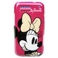 Cartoon Minnie Hard Cases Covers for Motorola Defy ME525 MB525 - Rose