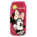 Cartoon Minnie Hard Cases Skin Covers for Nokia C5-03 - Rose