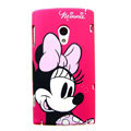 Cartoon Minnie Hard Cases Skin Covers for Sony Ericsson X10i X10 - Rose