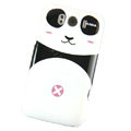 Cartoon Panda Hard Cases Covers for HTC Sensation XL Runnymede X315e G21 - Pink