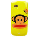 Cartoon Paul Frank Hard Cases Skin Covers for Nokia C5-03 - Yellow