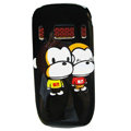 Cartoon Paul Frank Hard Cases Skin Covers for Nokia C7 C7-00 - Black