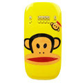 Cartoon Paul Frank Hard Cases Skin Covers for Nokia C7 C7-00 - Yellow