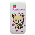Cartoon Rilakkuma Hard Cases Skin Covers for Nokia C5-03 - Beige