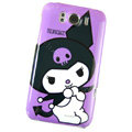 KUROMI Hard Cases Covers for HTC Sensation XL Runnymede X315e G21 - Purple