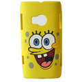 SpongeBob SquarePants Hard Cases Skin Covers for Nokia X7 X7-00 - Yellow