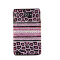 Bling Leopard Swarovski Crystals Cases Skin Covers For Samsung Galaxy Note i9220 N7000 - Pink