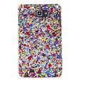 Bling Swarovski Crystals Cases Covers For Samsung Galaxy Note i9220 N7000 - Color