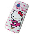 Cartoon Hello kitty Hard Cases Skin Covers for Nokia C5-03 - Rose