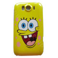 SpongeBob SquarePants Hard Cases Skin for HTC Sensation XL Runnymede X315e G21 - Yellow