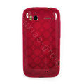 TPU Soft Skin Cases Covers for HTC Sensation 4G Z710e Z715e G14 G18 - Rose