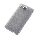 TPU Soft Skin Silicone Cases Covers for HTC G10 Desire HD A9191 - White