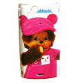 Monchhichi Scrub Hard Cases Covers for Sony Ericsson Xperia Arc LT15I X12 LT18i - Rose