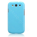 Nillkin Bright Side Hard Cases Skin Covers for Samsung I9300 Galaxy SIII S3 - Blue (High transparent screen protector)