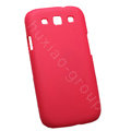 Nillkin Matte Hard Cases Skin Covers for Samsung I9300 Galaxy SIII S3 - Red (High transparent screen protector)