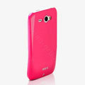 ROCK Colorful Glossy Cases Skin Covers for HTC Chacha G16 A810e - Rose (High transparent screen protector)
