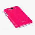 ROCK Colorful Glossy Cases Skin Covers for HTC Sensation XL Runnymede X315e G21 - Red (High transparent screen protector)