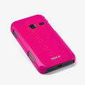 ROCK Colorful Glossy Cases Skin Covers for Samsung S5820 - Red (High transparent screen protector)