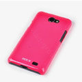 ROCK Colorful Glossy Cases Skin Covers for Samsung i9103 Galaxy R - Red (High transparent screen protector)