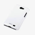 ROCK Colorful Glossy Cases Skin Covers for Samsung i9103 Galaxy R - White (High transparent screen protector)