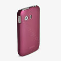 ROCK Naked Shell Hard Cases Covers for Samsung S5360 Galaxy Y I509 - Red (High transparent screen protector)