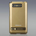 Nillkin Colorful Hard Cases Skin Covers for HTC T9188 A9188 - Golden (High transparent screen protector)