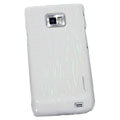 Nillkin Dynamic Color Hard Cases Skin Covers for Samsung i9100 i9108 i9188 Galasy S2 - White (High transparent screen protector)
