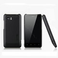 Nillkin Matte Hard Cases Skin Covers for HTC Raider 4G X710E G19 - Black (High transparent screen protector)