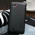 Nillkin Matte Hard Cases Skin Covers for HTC T328d Desire VC- Black (High transparent screen protector)